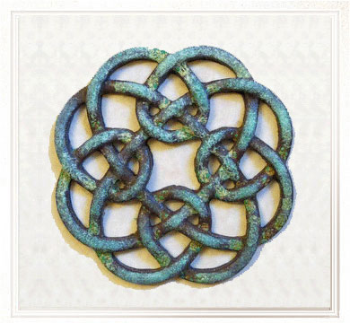 Celtic Hearths Bronze Celtic Knotwork Meanings